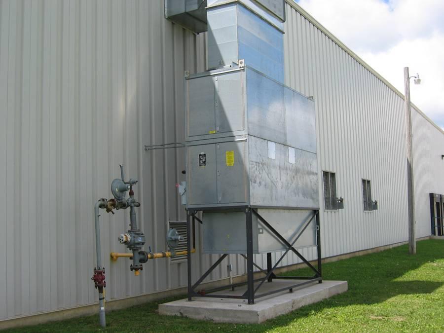Racine Paint Booth Heaters Air Make